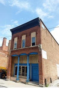 29 South Erie Street foundation front building historic building restoration in downtown toledo ohio