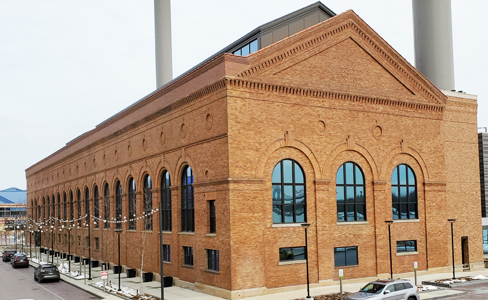 Featured project the Promedica Steam plant masonry building restoration in dowtown Toledo Ohio