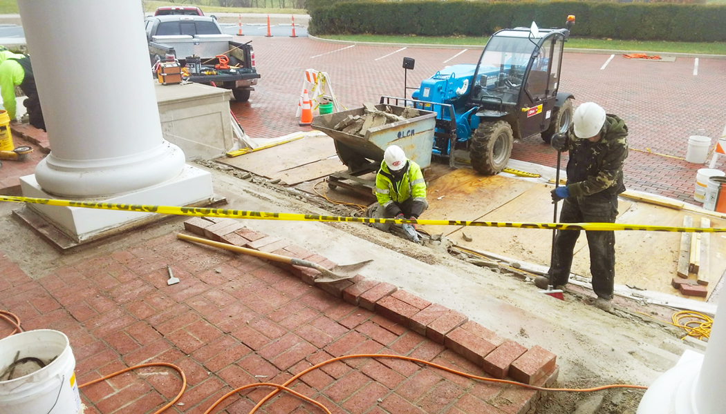 Great Lakes Concrete Restoration strives to be OSHA compliant at all times