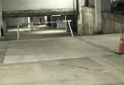 Great Lakes Concrete Restoration Garage Floor 2