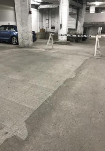 Great Lakes Concrete Restoration Garage Floor Repair 1