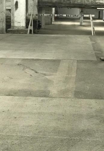 Great Lakes Concrete Restoration Garage Floor Repair 5