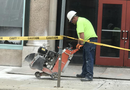 Great Lakes Concrete Restoration LaSalle Front 1