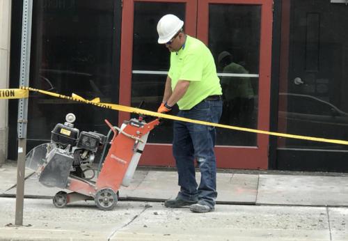 Great Lakes Concrete Restoration LaSalle Front 2