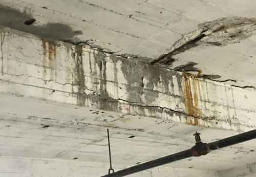 Great Lakes Concrete Restoration LaSalle Garage Ceiling 1