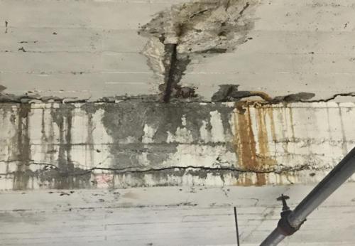 Great Lakes Concrete Restoration LaSalle Garage Ceiling 2