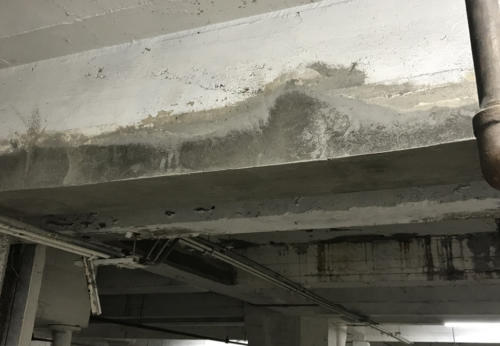 Great Lakes Concrete Restoration LaSalle Garage Ceiling 4