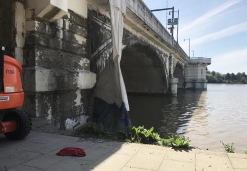 Great Lakes Concrete Restoration MLK Bridge Maumee river