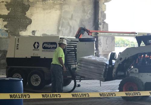 Great Lakes Concrete Restoration MLK Bridge safety