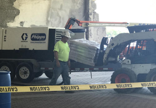Great Lakes Concrete Restoration MLK Bridge concrete coating 2021