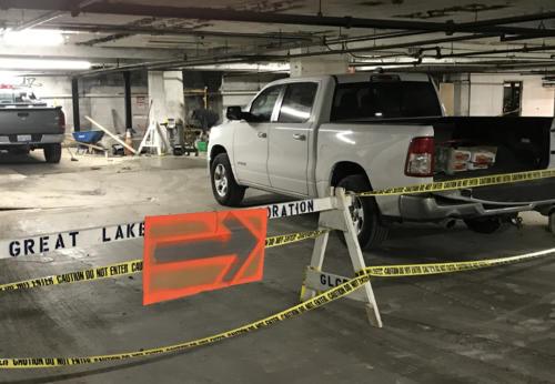 Great Lakes Concrete Restoration Patch 2