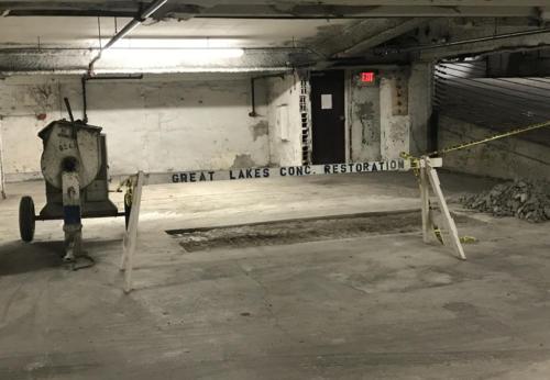 Great Lakes Concrete Restoration Patch 3