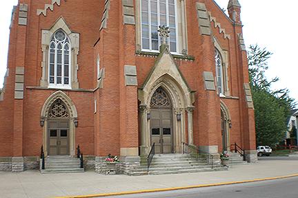 Fremont Church Sandstone North Elevation 1 (1)