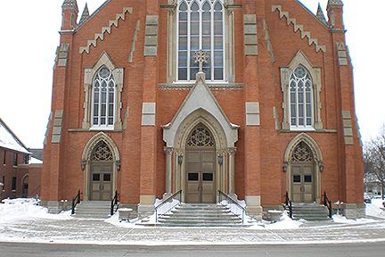 Fremont Church Sandstone North Elevation 5 (1)