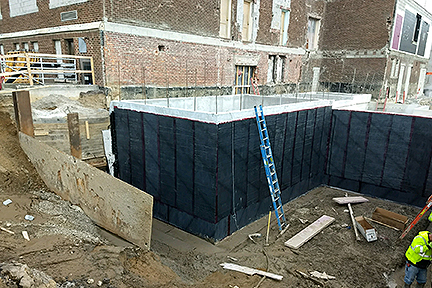 GLCR Below grade waterproofing Rossford waterproofing basement