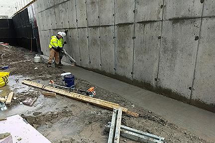 GLCR Below grade waterproofing Rossford waterproofing irrigation