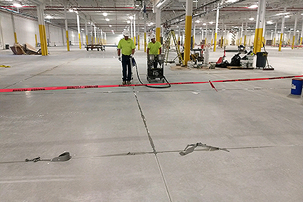 GLCR First Solar floor sealant floor seams