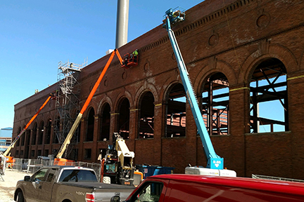 GLCR Steam powerplant wall restoration (1)