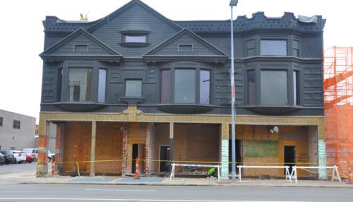Great Lakes Concrete Restoration Monroe St Downtown Toledo Building front