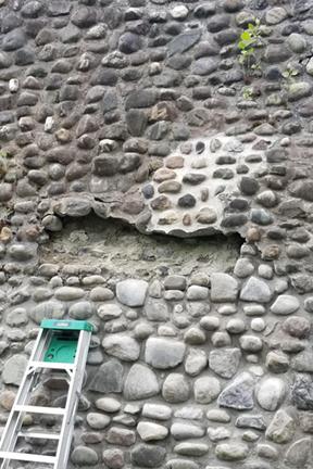Great Lakes Concrete Restorations Gunkel pyramid repair