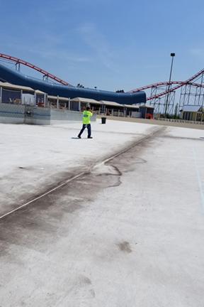 Great Lakes Concrete Restorations cedar point sealant replacement