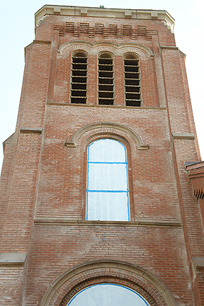St Joseph Church tower bricks 6 (1)