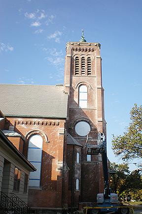 St Joseph Church tower side view 2 (1)